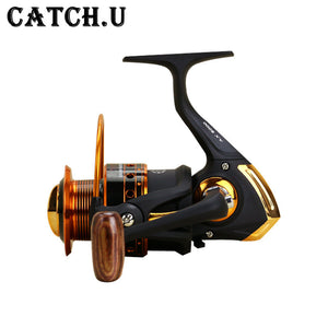 Catch.U Spinning Fishing Reels Bait Reel Fishing Mini Fishing Reel Spinning Full Metal