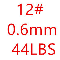 100M 0.5-1.0mm Nylon Fishing Line Super Strong