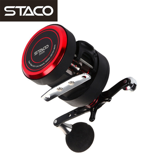 STACO Jigging Trolling Reel Left/Right Hand Casting