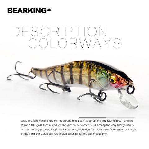 Bearking long casting fishing lures hard bait