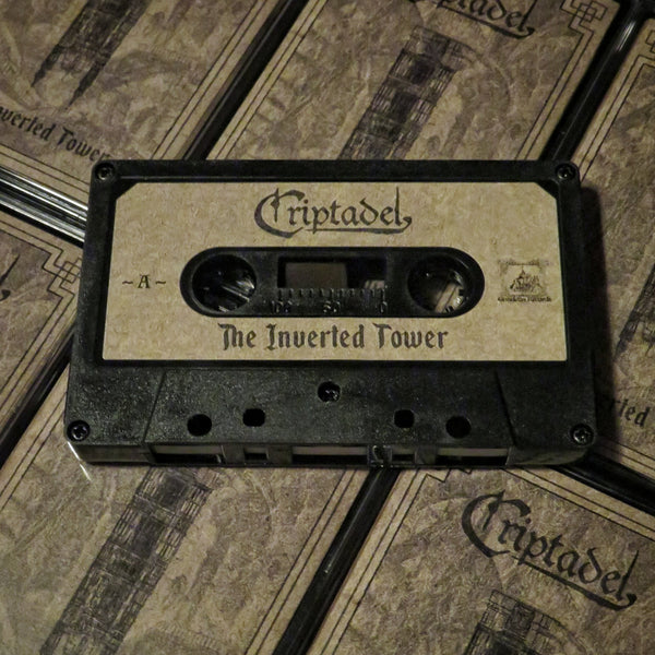"[SOLD OUT] CRIPTADEL ""The Inverted Tower"" Cassette Tape"