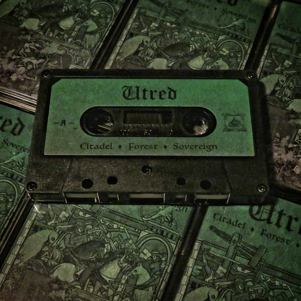 "[SOLD OUT] UTRED ""Citadel - Forest - Sovereign"" Cassette Tape"