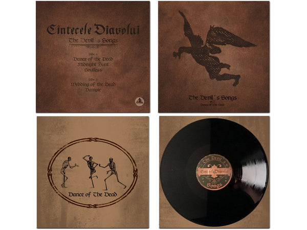 "CINTECELE DIAVOLUI ""The Devil's Songs"" Vinyl LP [MORTIIS] - LAST COPY"