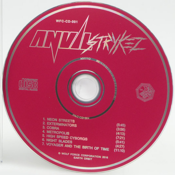 "ANVIL STRYKEZ ""Anvil Strykez"" CD"