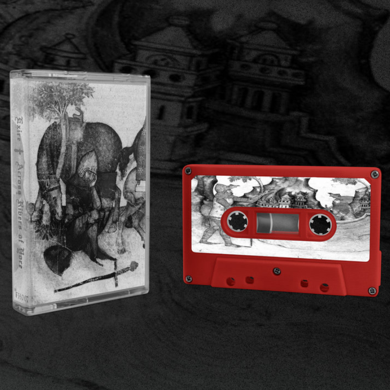 "[SOLD OUT] EXIRE ""Across Rivers of Yore"" Cassette Tape"