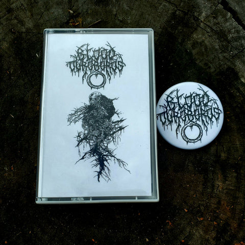 "BLOOD OUROBORUS ""Obfuscation of Hideous Ego"" Pro-Tape w/ badge"