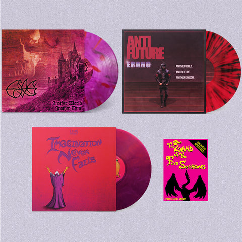 [SOLD OUT] ERANG VINYL BUNDLE (3x Color LPs w/ Trading Cards)