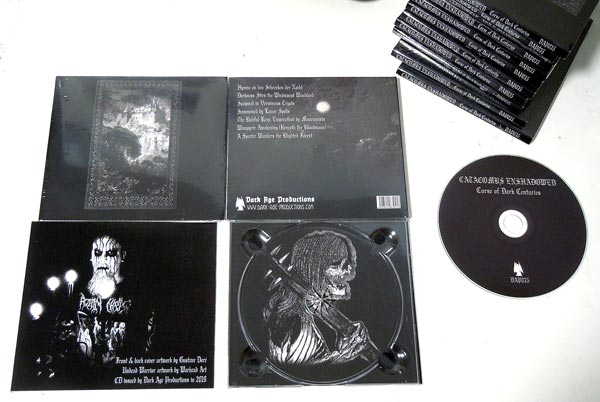 "CATACOMBS ENSHADOWED ""Curse of Dark Centuries"" CD"