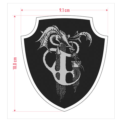 "THANGORODRIM ""Crest"" Patch (PREORDER)"