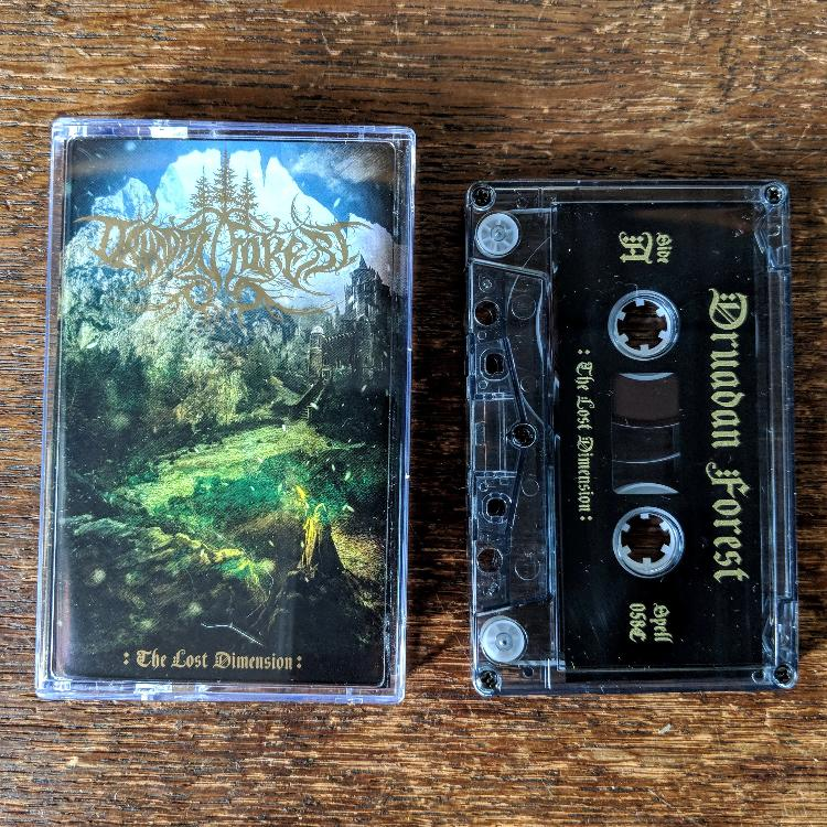 "[SOLD OUT] DRUADAN FOREST ""The Lost Dimension"" Cassette Tape"