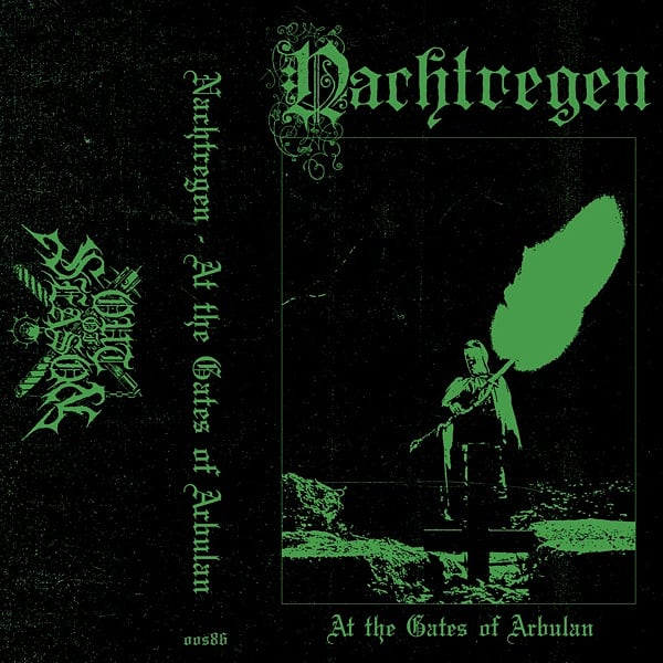 "[SOLD OUT] NACHTREGEN ""At the Gates of Arbulan"" Cassette Tape"