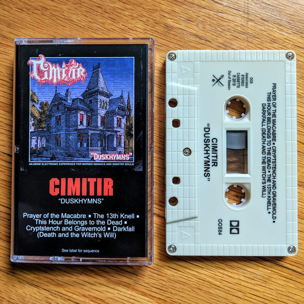 "[SOLD OUT] CIMITIR ""Duskhymns"" Cassette Tape"