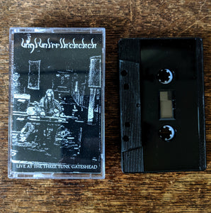 "[SOLD OUT] UNGL'UNL'RRLH'CHCHCH ""Live at the Three Tuns, Gateshead"" Cassette Tape"