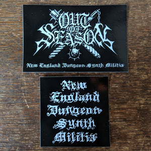 "OUT OF SEASON ""NEDSM Sticker Pack"""