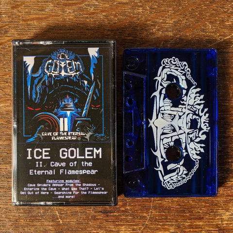 "ICE GOLEM ""II: Cave of the Eternal Flamespear"" Pro-Tape"