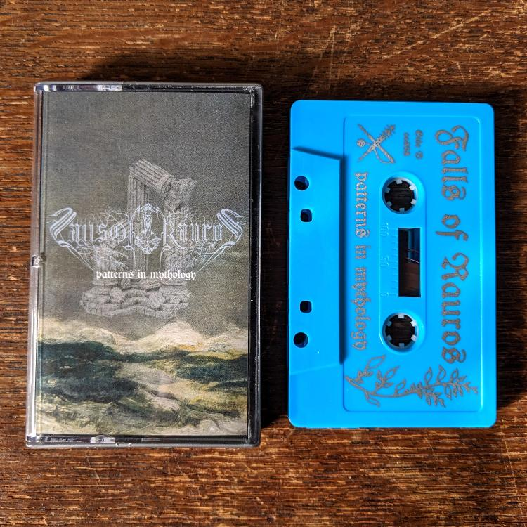 "[SOLD OUT] FALLS OF RAUROS ""Patterns in Mythology"" Cassette Tape"