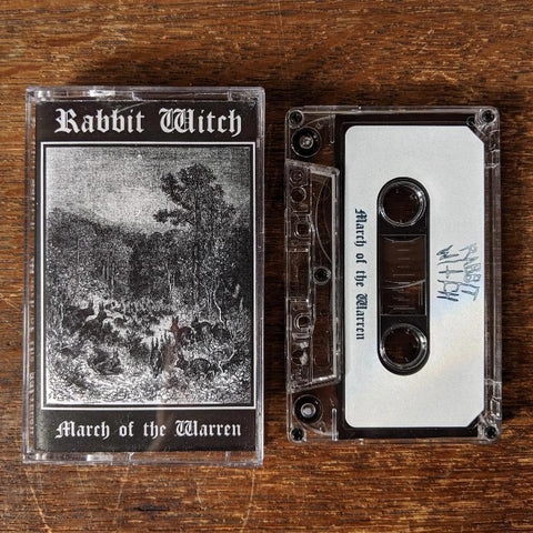 "RABBIT WITCH  ""March of the Warren"" Cassette Tape"