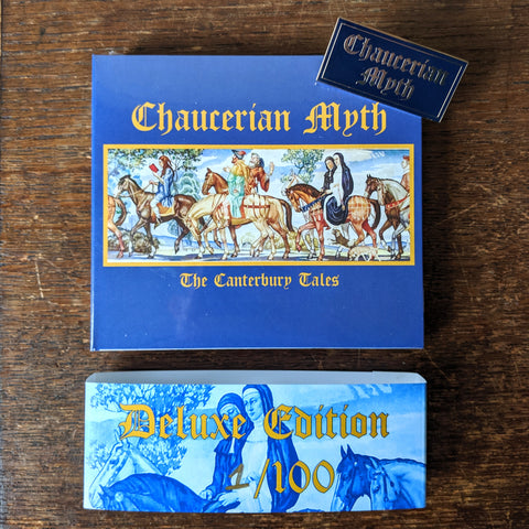 "(DELUXE) CHAUCERIAN MYTH ""The Canterbury Tales"" 3xCD"