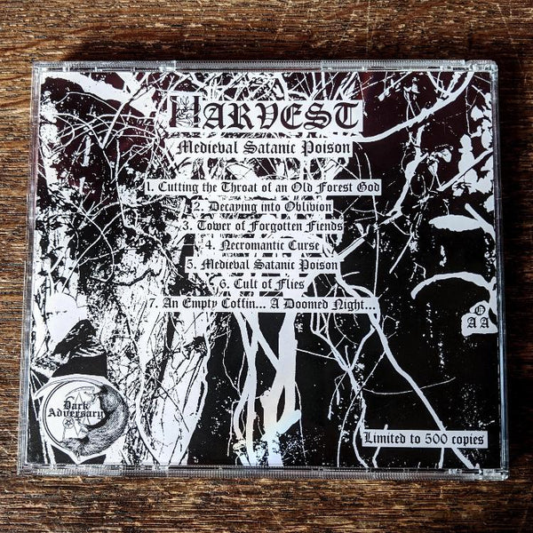 "HARVEST ""Medieval Satanic Poison"" CD"