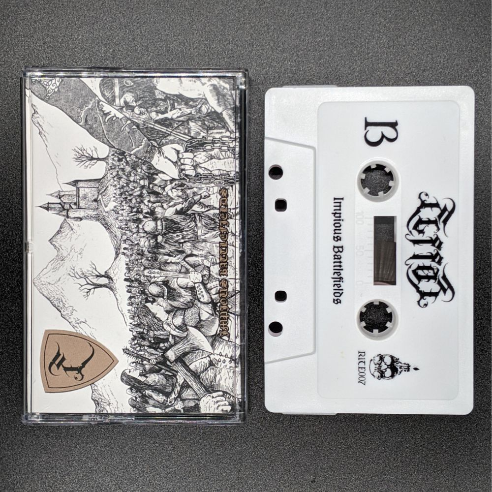 "[SOLD OUT] ELFFOR ""Impious Battlefields"" Cassette Tape"