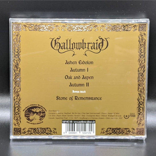 "GALLOWBRAID ""Ashen Eidolon"" CD"