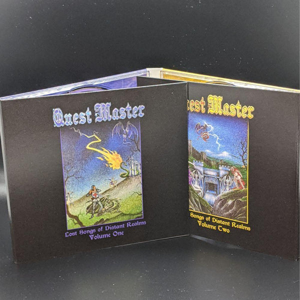 "QUEST MASTER ""Lost Songs of Distant Realms"" 2xCD"