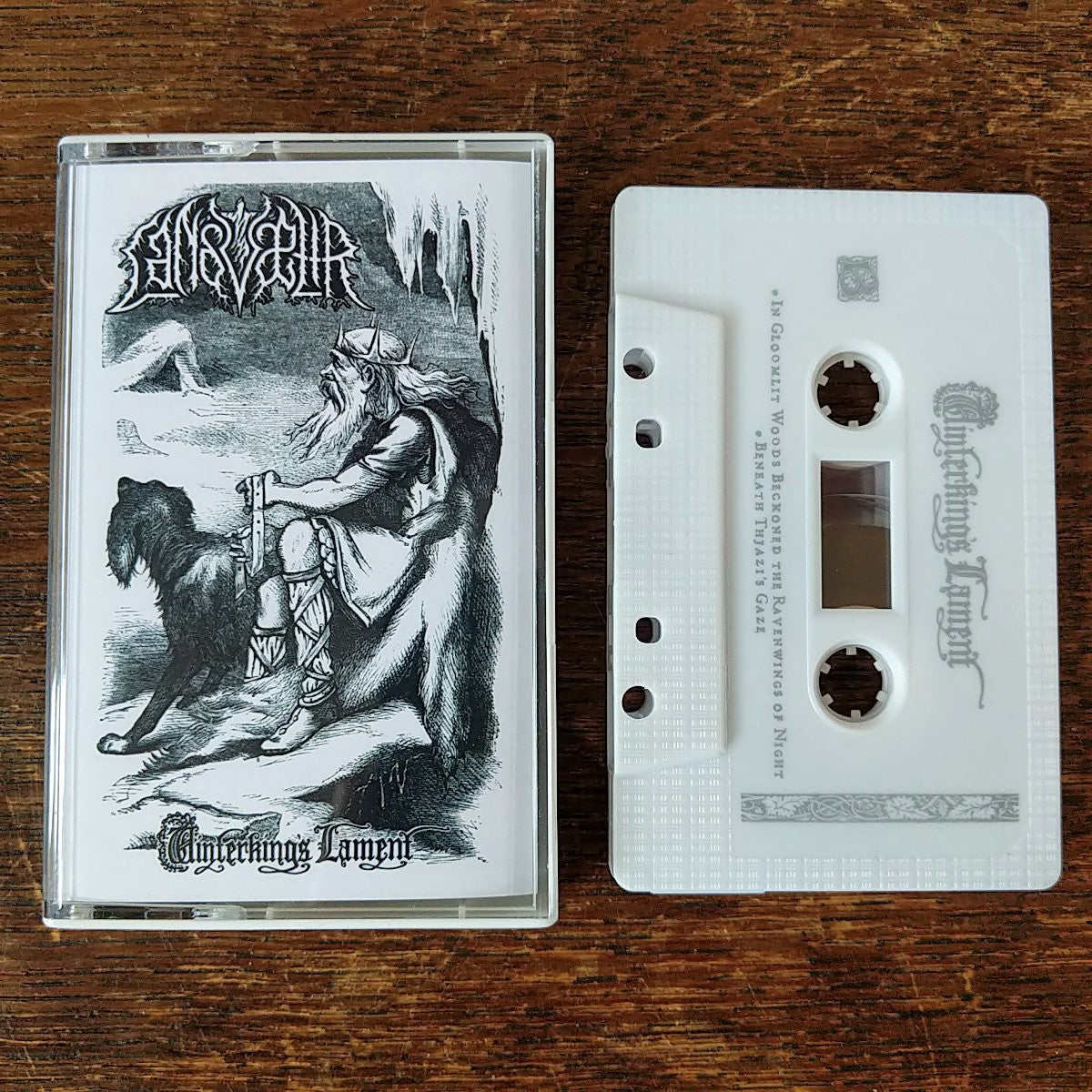 "[SOLD OUT] LANDVAETTR ""Winterking's Lament"" Cassette Tape"