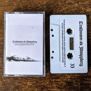 "[SOLD OUT] TROLLMANN AV ILDTOPPBERG ""As The Fog Clears But For A Moment..."" Cassette Tape"