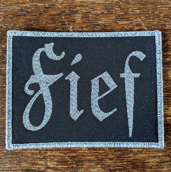 "FIEF ""Logo"" (Silver) Patch"