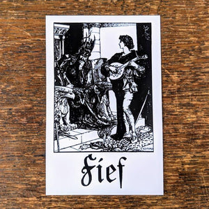"FIEF ""I+II"" Sticker"