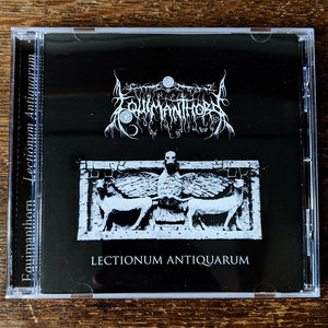 "[SOLD OUT] EQUIMANTHORN ""Lectionum Antiquarum"" CD"