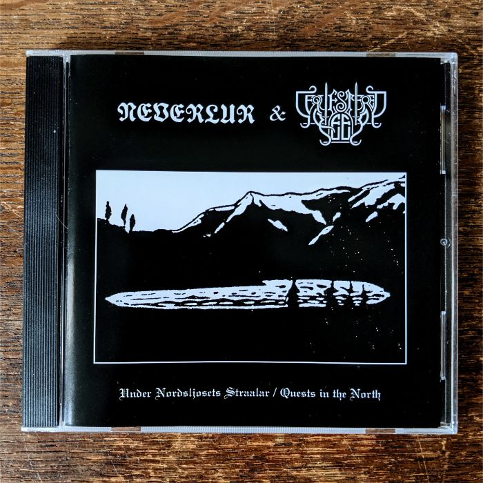 "NEVERLUR / SEQUESTERED KEEP ""Under Nordljosets Straalar / Quests in the North"" split CD"