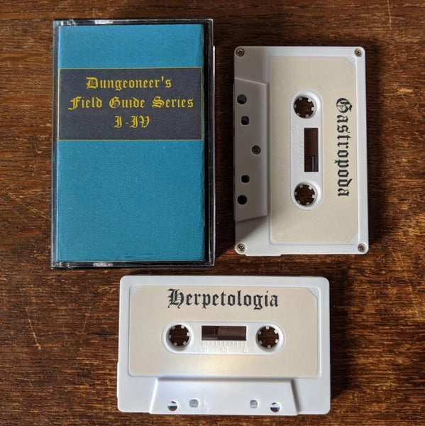 "DUNGEONEER'S FIELD GUIDE ""Series I-IV"" 2xTape"
