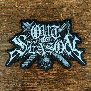 OUT OF SEASON Shaped Logo Patch