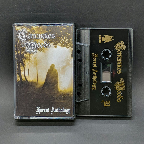 "[SOLD OUT] CERNUNNOS WOODS ""Forest Anthology"" Cassette Tape"