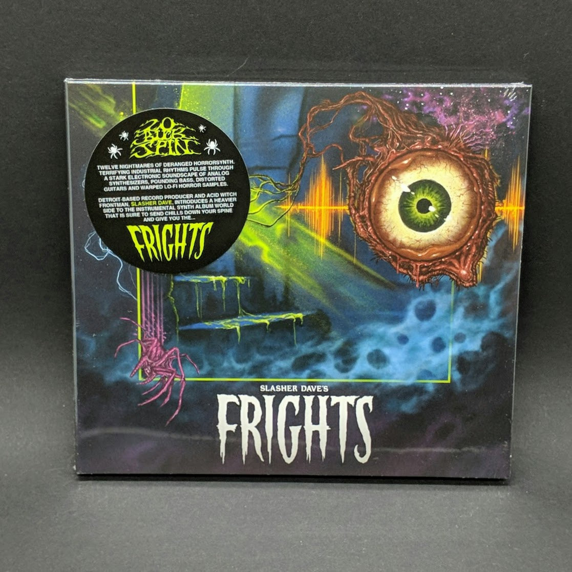 "SLASHER DAVE ""Frights"" CD"