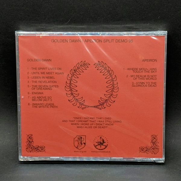 "GOLDEN DAWN / APERION ""Split 1995"" 2xCD"