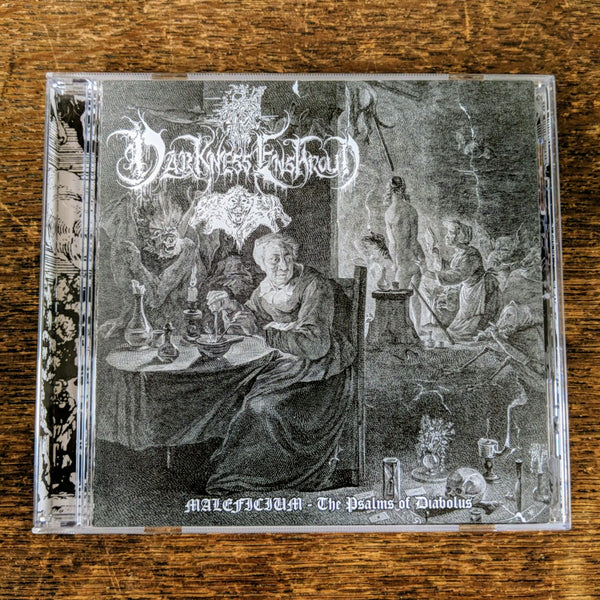 "[SOLD OUT] DARKNESS ENSHROUD ""Maleficium - The Psalms of Diabolus"" CD"