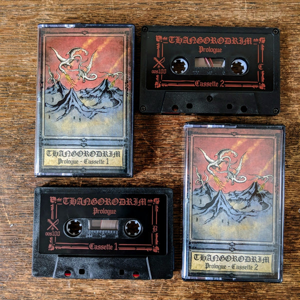 "[SOLD OUT] THANGORODRIM ""Prologue"" 2xTape Box Set"