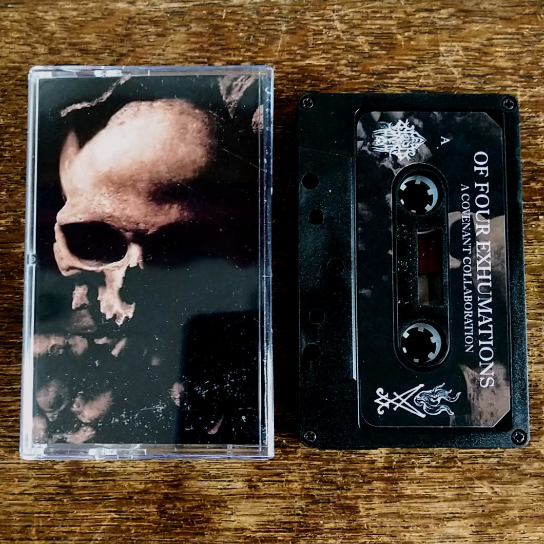 "A COVENANT COLLABORATION ""Of Four Exhumations"" split Pro-Tape"