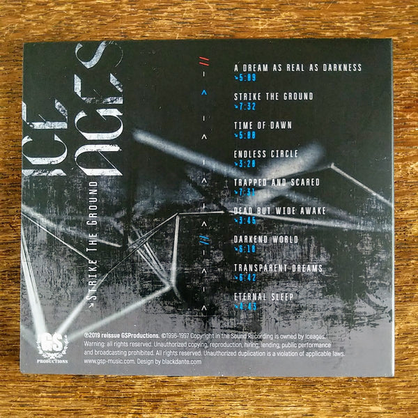 "ICE AGES ""Strike the Ground"" CD (Summoning)"