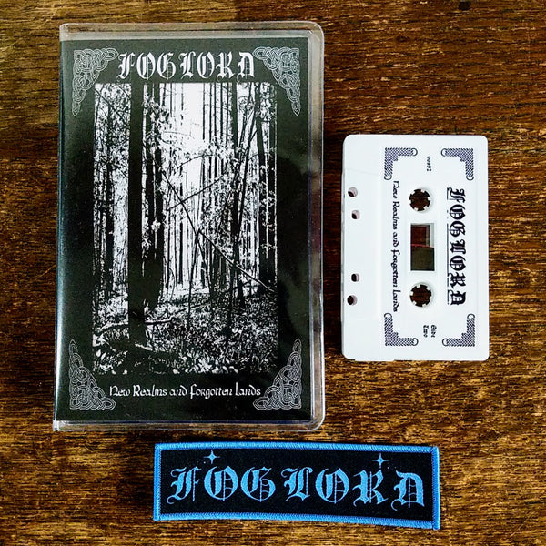 FOGLORD 'New Realms... NEDSMMXX' Pro-Tape + Patch