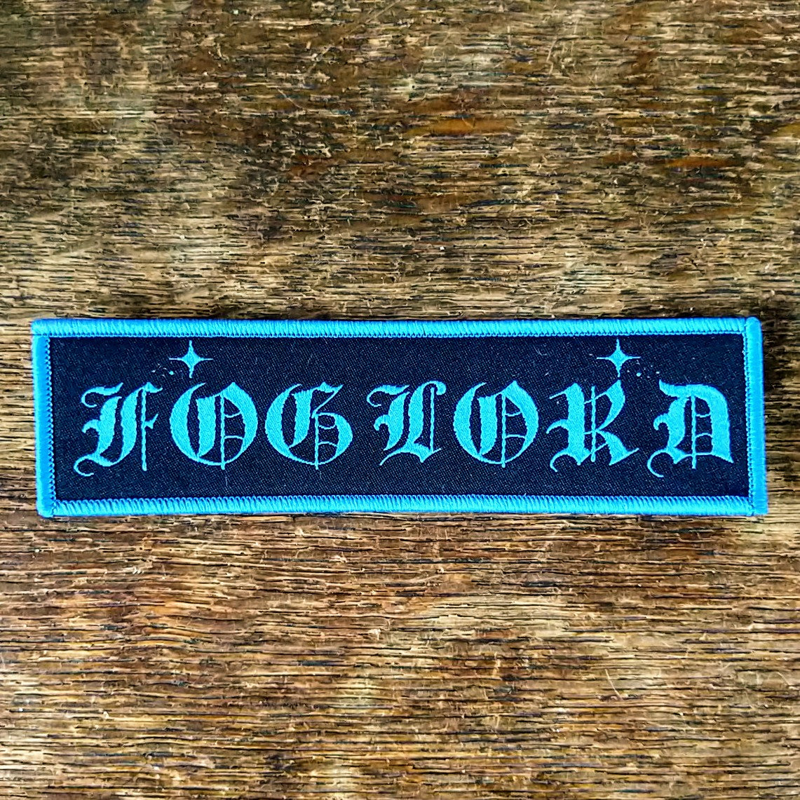 [SOLD OUT] FOGLORD Logo Patch