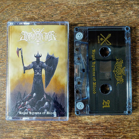 "[SOLD OUT] BARAK TOR ""Regal Hymns of Blood"" Cassette Tape"