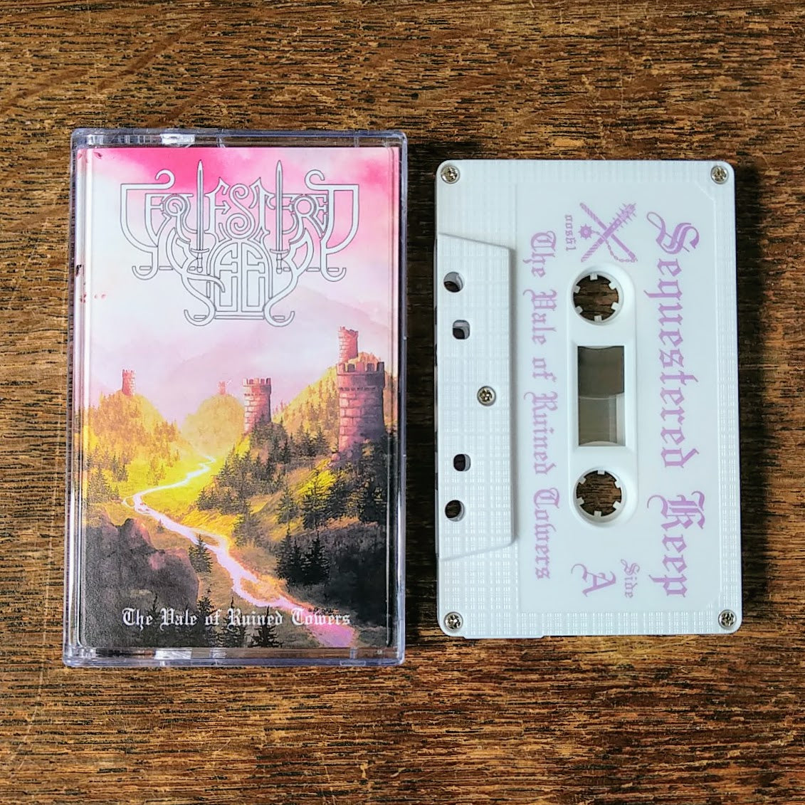 "[SOLD OUT] SEQUESTERED KEEP ""The Vale of Ruined Towers"" Cassette Tape"