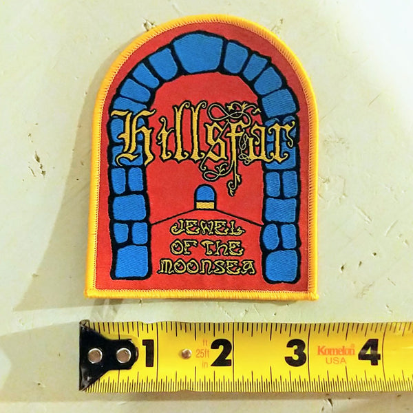 HILLSFAR Tri-Color shaped Patch