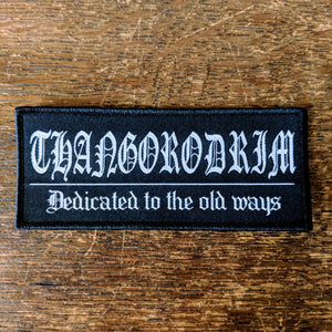 THANGORODRIM 'Dedicated' Patch