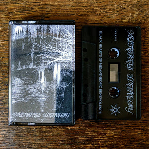 "[SOLD OUT] ALTERED HERESY ""Black Hearts Of Misanthropic Benevolence""  Cassette Tape"