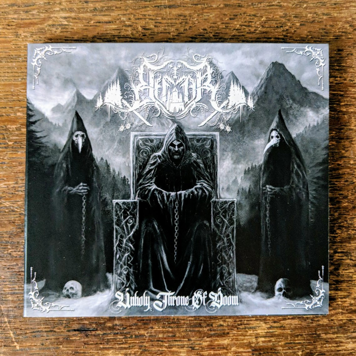 "ELFFOR ""Unholy Throne of Doom"" CD"