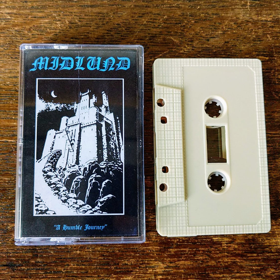 "[SOLD OUT] MIDLUND ""A Humble Journey"" Cassette Tape"